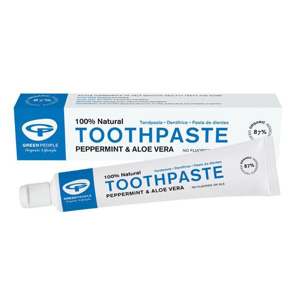 Peppermint Toothpaste Vegan, ORGANIC