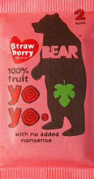 Strawberry Yo Yos Fruit Rolls Gluten Free, Vegan