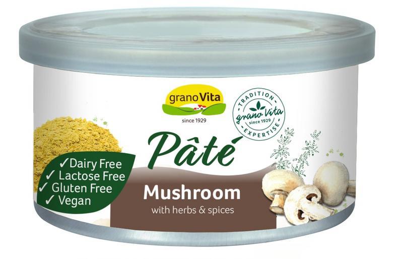 Mushroom Pate Gluten Free