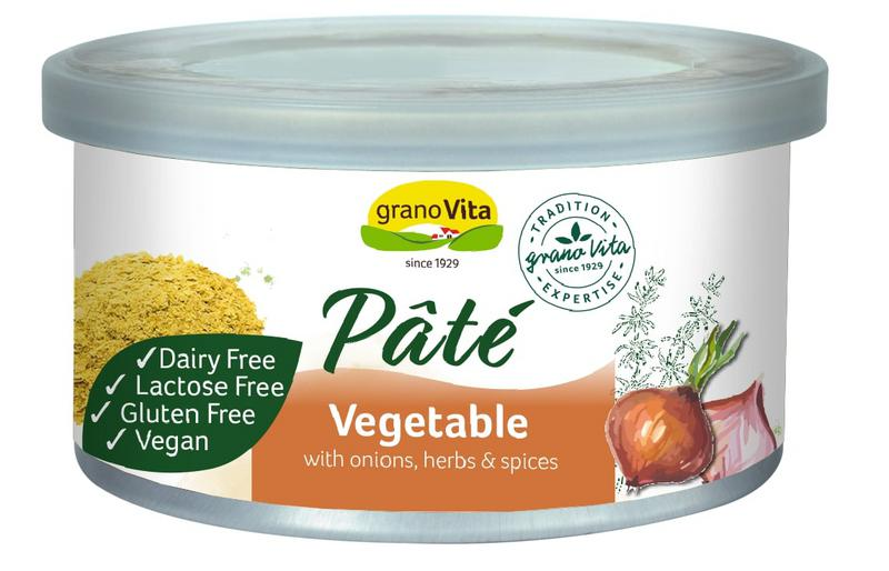 Vegetable Pate dairy free, Gluten Free