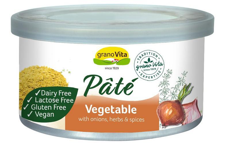 Vegetable Pate Gluten Free