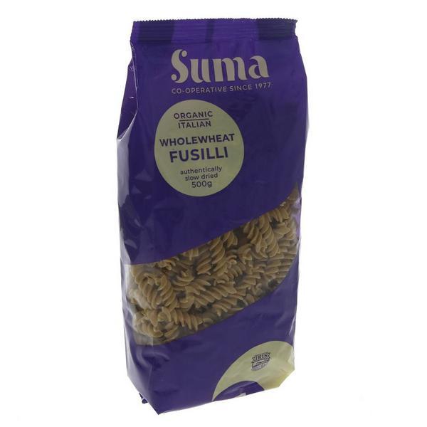 Wholewheat Pasta Fusilli ORGANIC