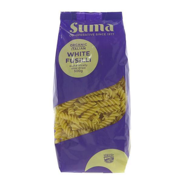 White Pasta Fusilli ORGANIC