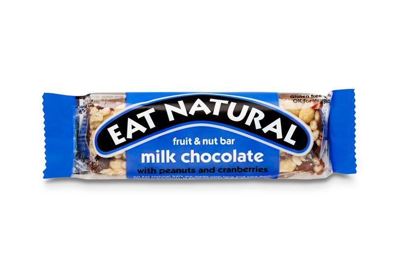 Peanut,Cranberry,Pistachio & Milk Chocolate Snackbar