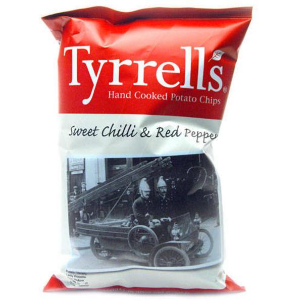 Sweet Chilli & Red Pepper Chips Gluten Free, Vegan