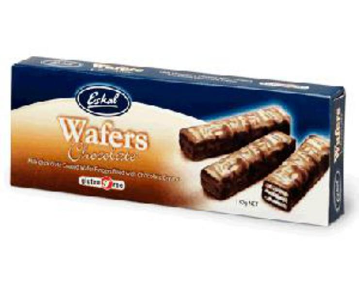 Chocolate Coated Wafers Gluten Free