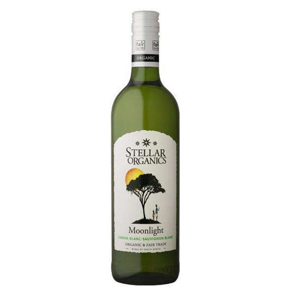Organic Chenin-Sauvignon Moonlight White Wine Vegan, FairTrade, ORGANIC