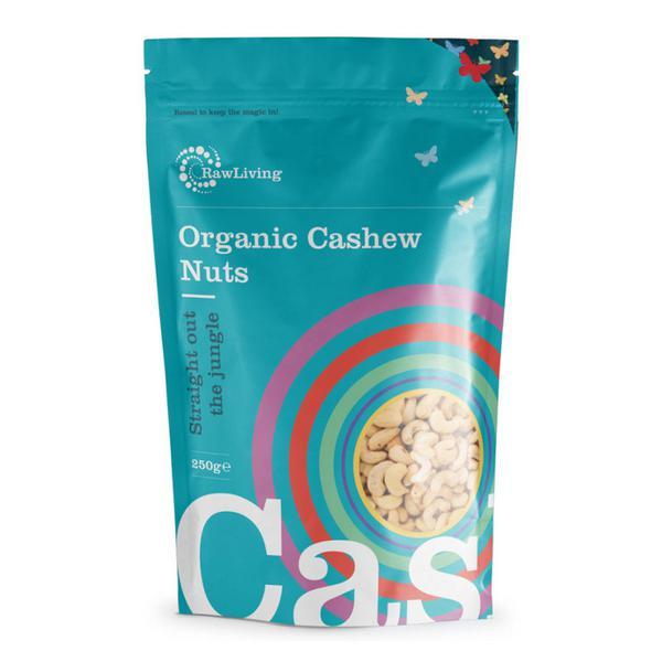 Raw White Cashew Nuts ORGANIC