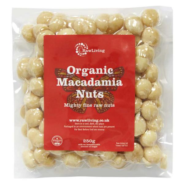 Macadamia Nuts Whole ORGANIC