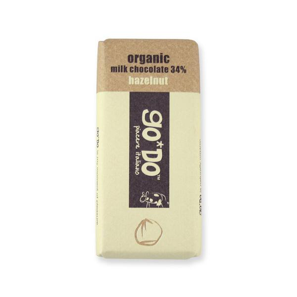 Hazelnut Milk Chocolate 34% ORGANIC