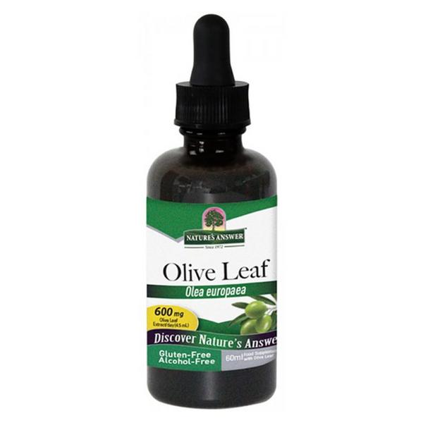 Olive Leaf Liquid Extract Alcohol Free
