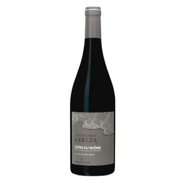 Red Wine Contreforts du Delta France 13.5% Vegan, ORGANIC