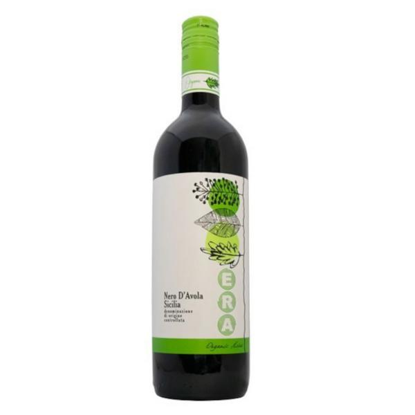 Red Wine Nero d'Avola Italy 13% Vegan