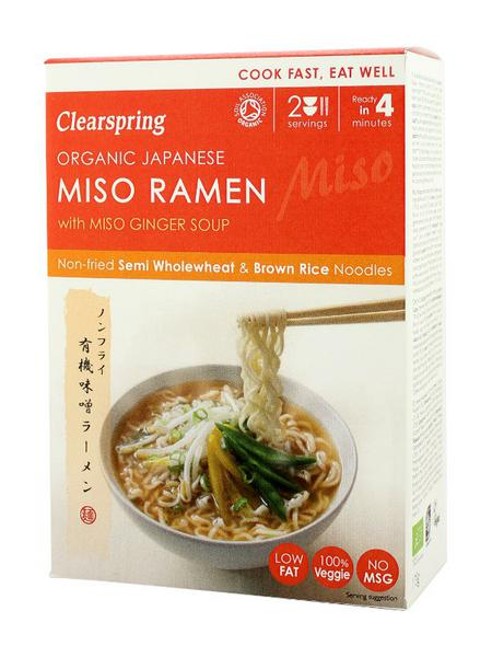 Ginger Miso Brown Rice Ramen Noodles ORGANIC