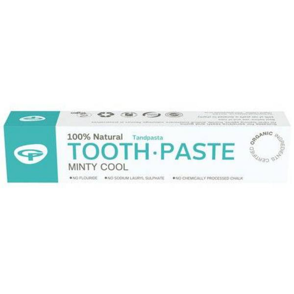 Minty Cool Toothpaste Vegan, ORGANIC