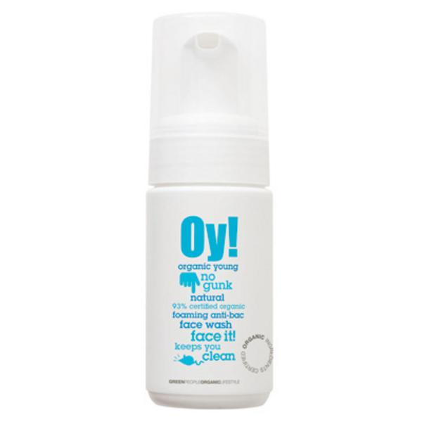 Anti Bacterial Facial Wash Oy! Vegan, ORGANIC