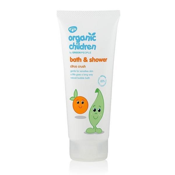 Citrus&Aloe Vera Bath & Shower Gel Children's Vegan, ORGANIC