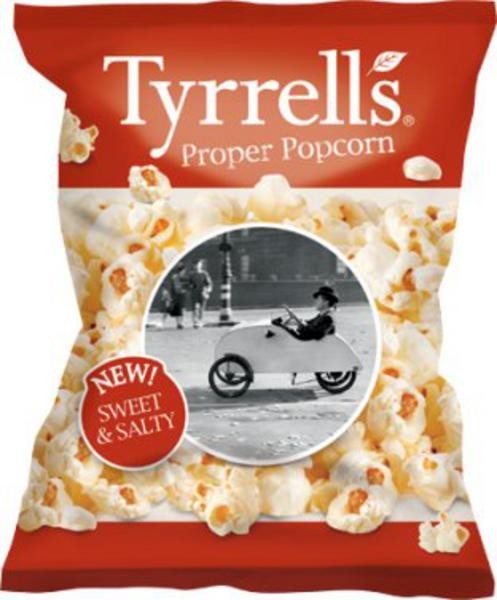 Sweet & Salty Proper Popcorn GMO free, added salt & sugar