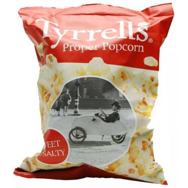 Sweet & Salty Proper Popcorn GMO free, added salt & sugar