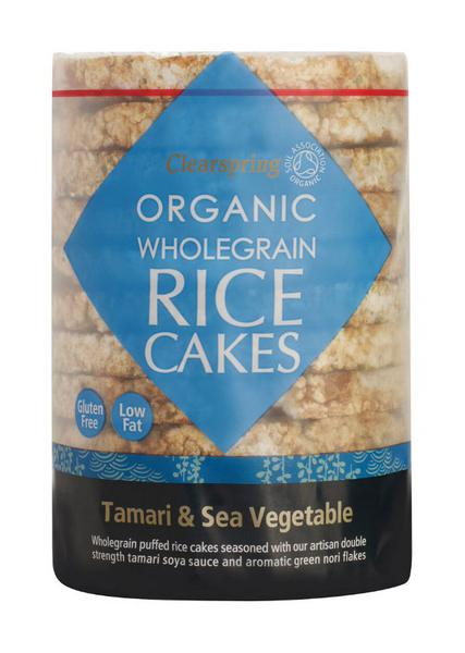 Tamari & Sea Vegetable Rice Cakes Gluten Free, no added sugar, Vegan, wheat free, ORGANIC