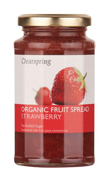 Strawberry Fruit Spread no sugar added, ORGANIC