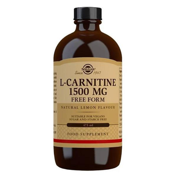 L-Carnitine Liquid Supplement 1500mg Vegan