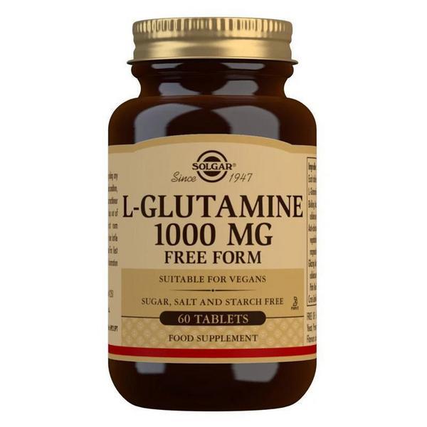 L-Glutamine Supplement 1000mg Gluten Free, Vegan