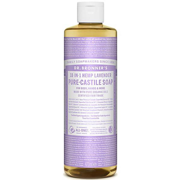 Lavender Castile Liquid Soap Vegan, FairTrade, ORGANIC