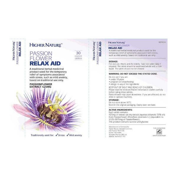 Passion Flower Relax Aid  image 2