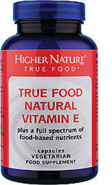 Natural Vitamin E Supplement True Food Vegan