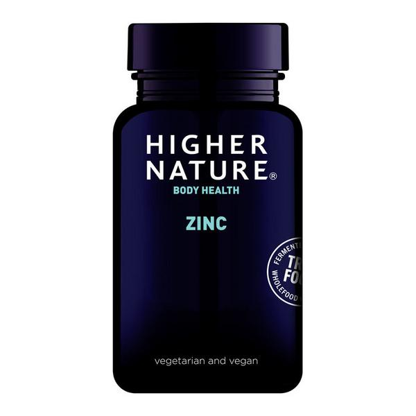 True food true food zinc in 30tabs from higher nature for Cuisine zinc