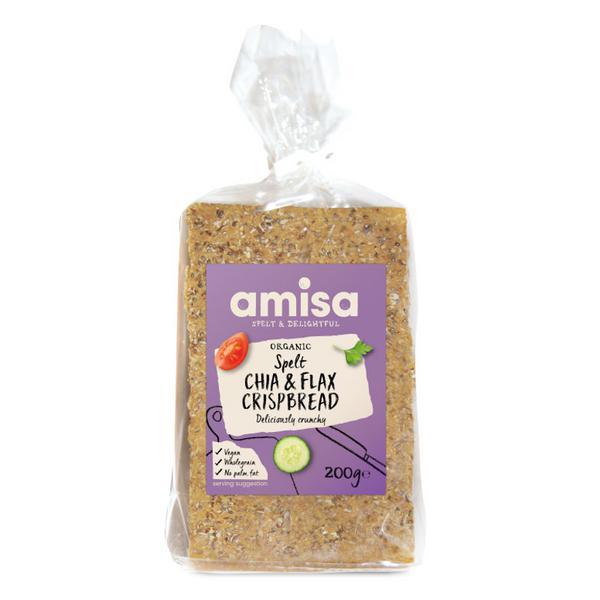 Chia & Flax Omega Crispbreads ORGANIC