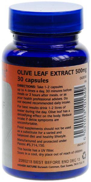 Olive Leaf Supplement Extract  image 3