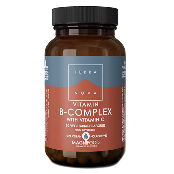 B Complex with Vitamin C Supplement