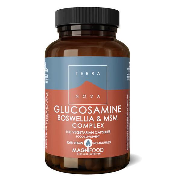 Glucosamine,Boswellia & MSM Complex Magnifood Vegan