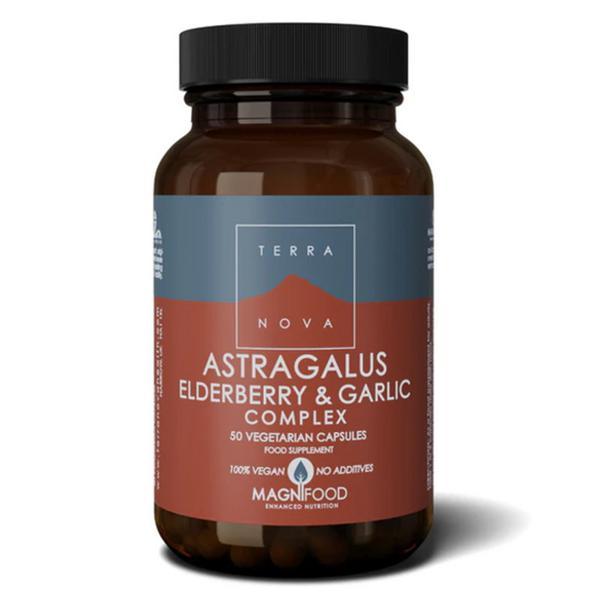 Astragalus,Elderberry & Garlic Complex Magnifood Vegan