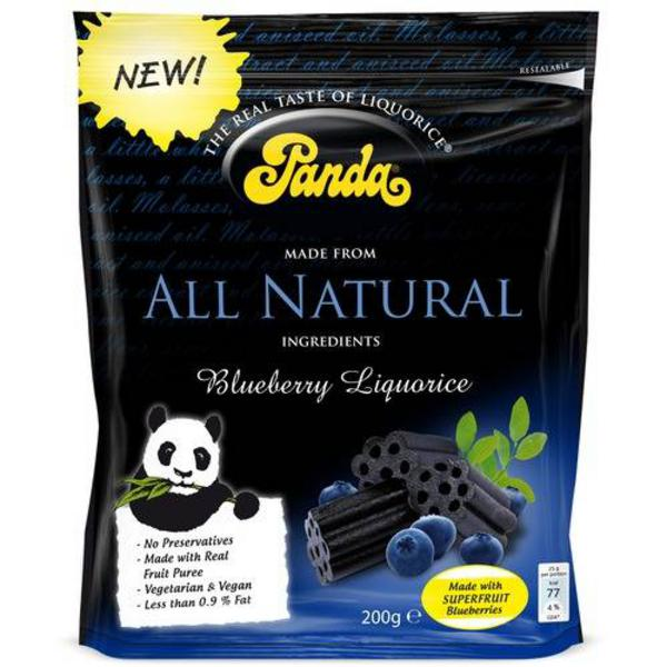Natural Blueberry Liquorice