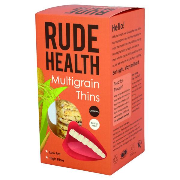 Multigrain Thins Gluten Free, FairTrade, ORGANIC