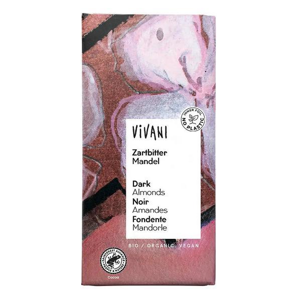 Dark Chocolate With Almonds ORGANIC