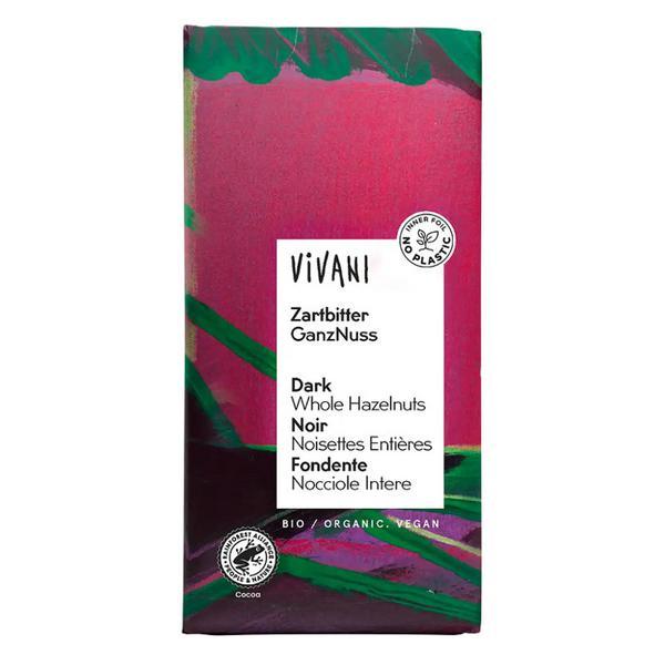 Dark Chocolate with Hazelnuts ORGANIC