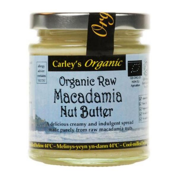 Raw Macadamia Nut Butter ORGANIC