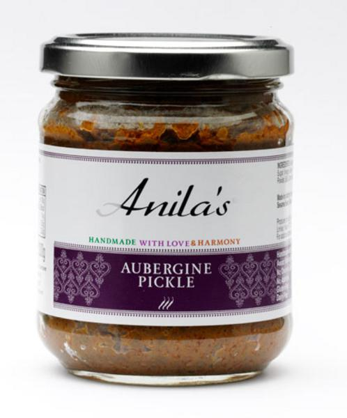 Aubergine Pickle Medium Hot