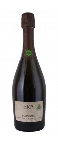 Wine Prosecco Spumante Sparkling Italy Era Dry 11% Vegan, ORGANIC