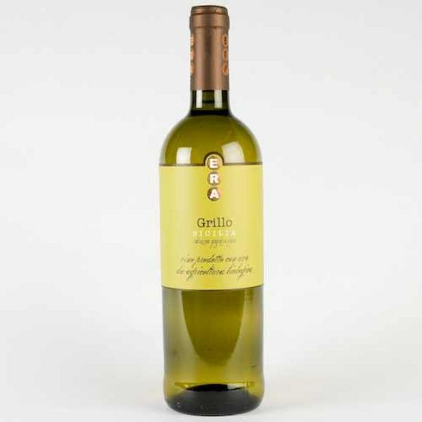 Era White Wine Grillo Italy Vegan, ORGANIC