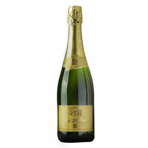 Champagne Brut Wine Carte D'Or 12% France Vegan, ORGANIC
