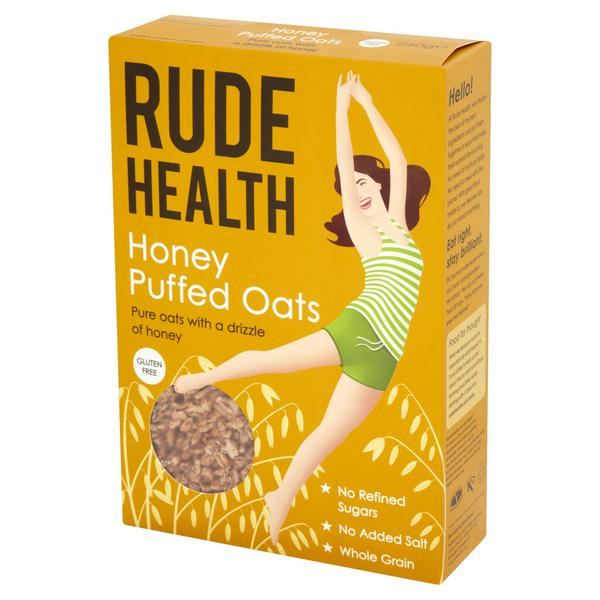 Honey Oats Puffed Cereal Gluten Free