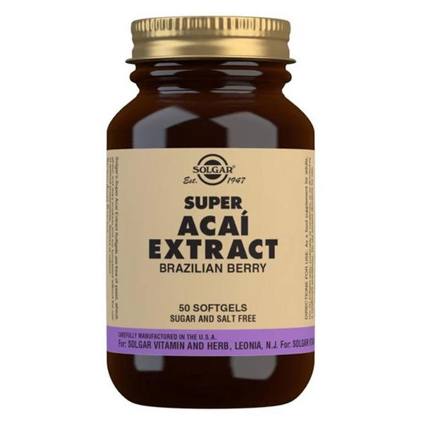 Super Extract Acai salt free, sugar free