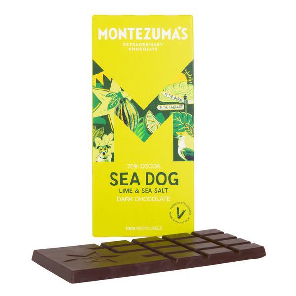 Sea Dog Lime & Sea Salt Dark Chocolate Vegan