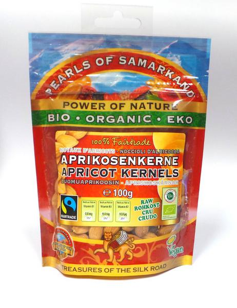 Sweet Apricot Kernels FairTrade, ORGANIC image 2