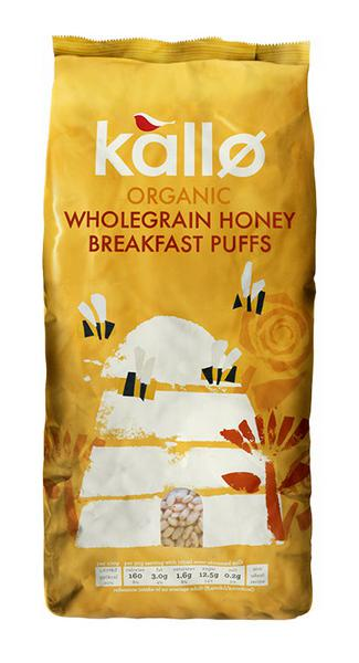 Honey Puffed Cereal Rice ORGANIC